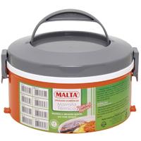 MARMITA TERM PLAST 1,6L 1 PRATO C/ DIV MALTA - Cod.: 3244