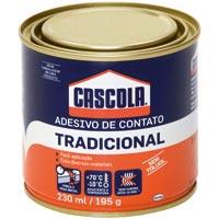 COLA CONTATO 195G S/ TOLUOL CASCOLA - Cod.: 41587