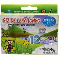 GIZAO CERA C/12 CORES APLICOR - Cod.: 46868