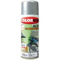 TINTA SPRAY COLORGIN ALTA TEMP ALUM 300ML - Cod.: 61750