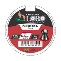 CHUMBINHO ESPING 5,5MM DIABOLO C/125 LOBO - Cod.: 75407