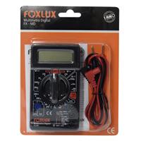 MULTIMETRO DIGIT FOXLUX - Cod.: 89547