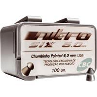 CHUMBINHO ESPING 6,0MM NITRO-SIX C/100 CBC - Cod.: 90287