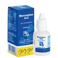 MERCEPTON ORAL 020ML BRAVET PET - Cod.: 91469