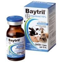 BAYTRIL INJETAVEL 10% 10ML BAYER #N - Cod.: 93972