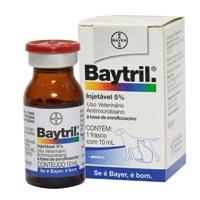 BAYTRIL INJ 05% 10ML BAYER PET - Cod.: 94007