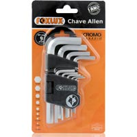 CHAVE ALLEN JG 9PC FOXLUX - Cod.: 94735
