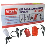 KIT PINTURA 5PC INTECH MACHINE - Cod.: 94838