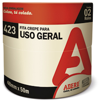 FITA CREPE USO GERAL 48MMX50M TAPEFIX ADERE - Cod.: 96337