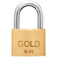 CADEADO 45MM GOLD - Cod.: 96360