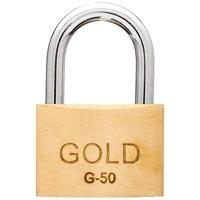 CADEADO 50MM GOLD - Cod.: 96361