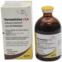 TERRAMICINA L.A. SOLUCAO INJ 100ML ZOETIS #I - Cod.: 97899