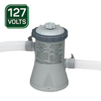 BOMBA FILT 1250L/H P/ PISCINA 127V INTEX - Cod.: 98262