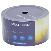 CD-R GRAVAVEL PINO MULTILASER - Cod.: 98647