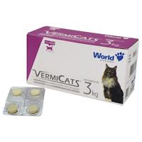 VERMIFUGO VERMICATS 600MG 3KG WORLD PET - Cod.: 98708