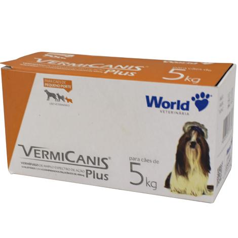 VERMIFUGO VERMICANIS 400MG 5KG WORLD PET - Cod.: 101386