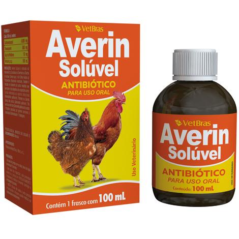 AVERIN 100ML VETBRAS - Cod.: 105843