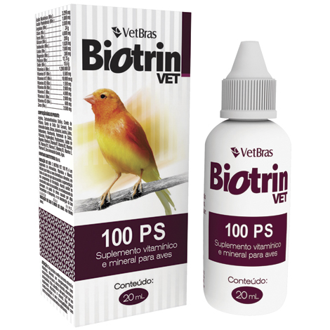 BIOTRIN VET 100 P.S 20ML VETBRAS - Cod.: 112339