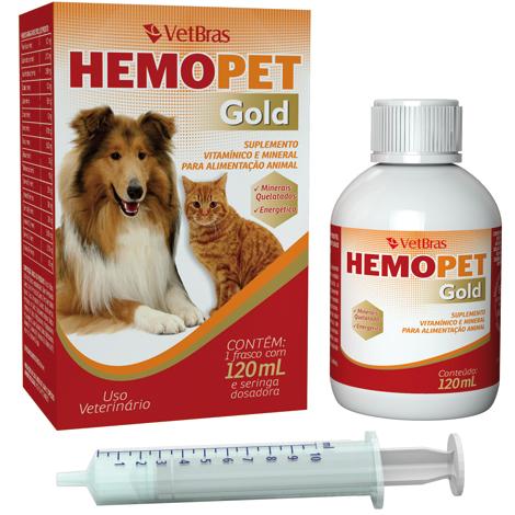 HEMOPET GOLD 120ML VETBRAS - Cod.: 114918