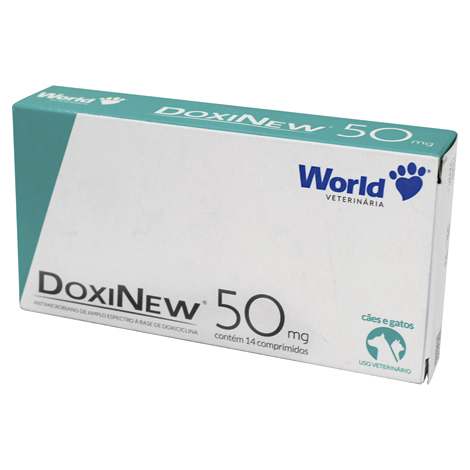 DOXINEW 50MG COMPRIMIDOS WORLD - Cod.: 115859