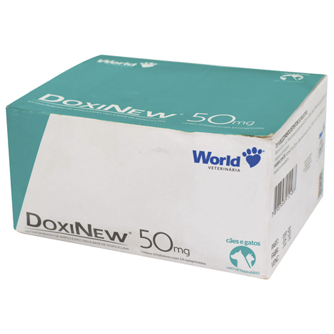 DOXINEW 50MG DISPLAY COMPRIMIDOS WORLD - Cod.: 115860