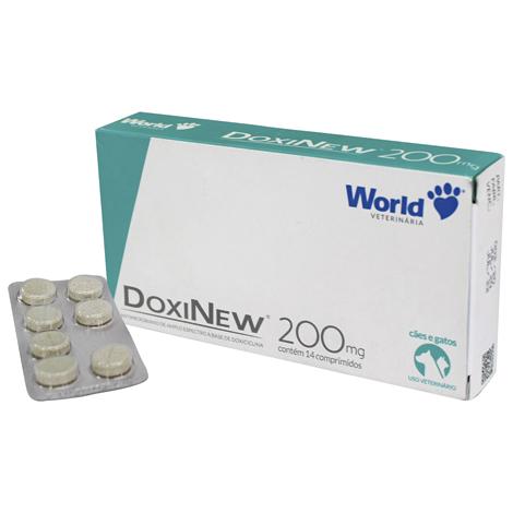 DOXINEW 200MG COMPRIMIDOS WORLD - Cod.: 115861