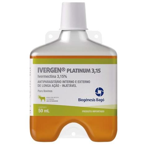 IVERGEN IVERMECTINA PLATINUM 3,15% 050ML BIOGENES - Cod.: 117921