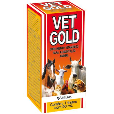 VET GOLD 50 ML VETBRAS - Cod.: 92531