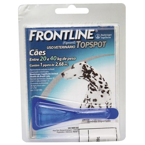 FRONTLINE TOP SPOT CAO G 20 A 40 KG PET #N - Cod.: 94627